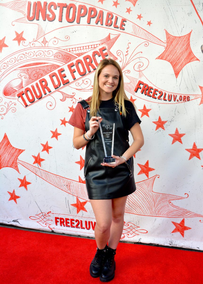 Free2Luv 2018 DIFFERENCE MAKER Awards.