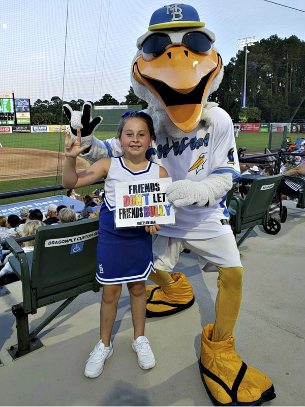 Join Splash and the Myrtle Beach Pelicans to STRIKE OUT BULLYING